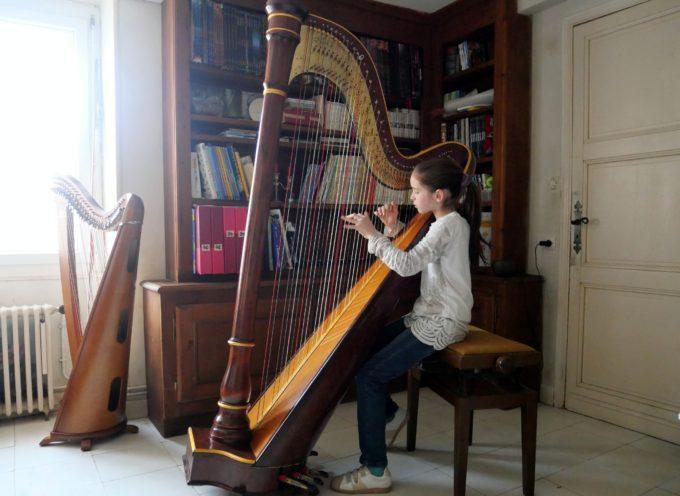 Mauléon Barousse : Maylie, la harpe passion