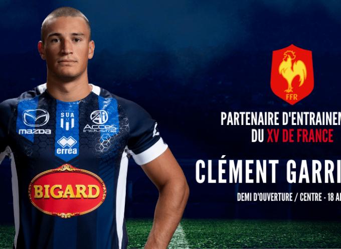 Clément GARRIGUES, jeune espoir du rugby, formé à Agen, Luchon lui manque