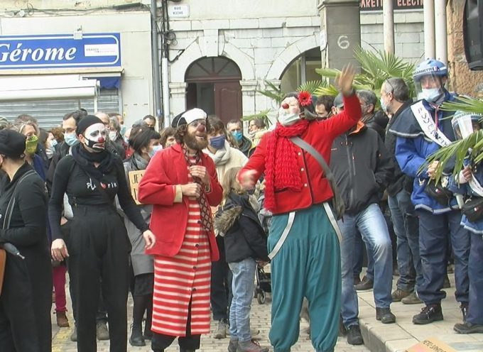 Manifestation le 6 mars à St-Gaudens – Réouverture immédiate des lieux de culture