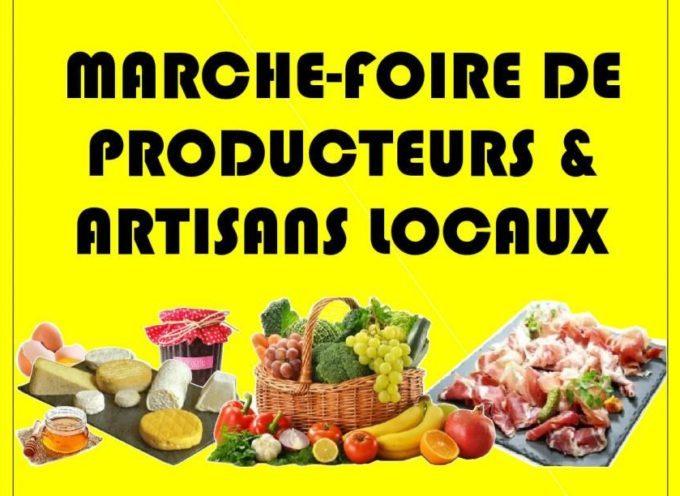 Le marché-foire de Labarthe-Inard