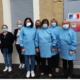 Des blouses locales pour le SAAD de Boulogne sur Gesse