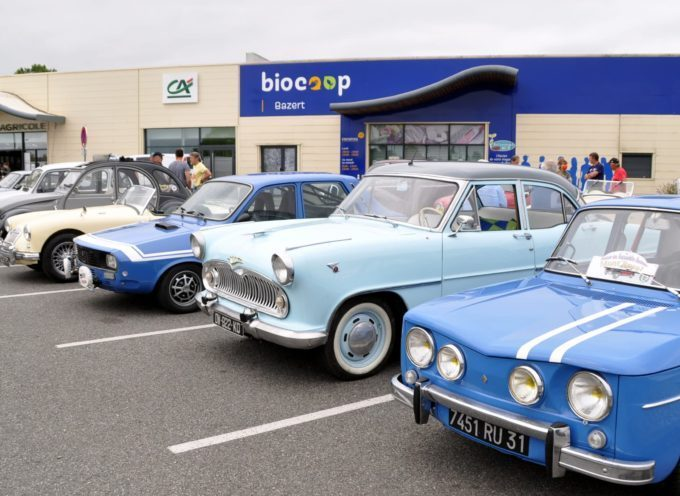 Gourdan-Polignan : Rassemblement de véhicules anciens