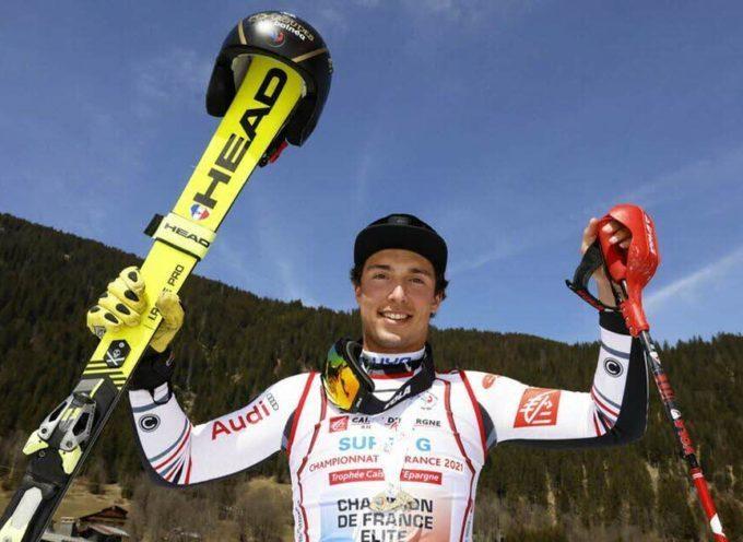 Adrien FRESQUET, un Pyrénéen Champion de France de Super G à Chatel