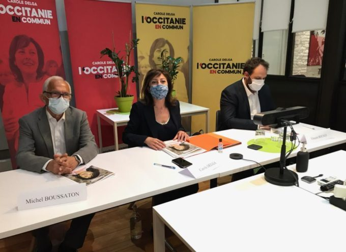 """Carole Delga en campagne """"L'occitanie en commun"""": Réorganiser la santé au niveau régional"""