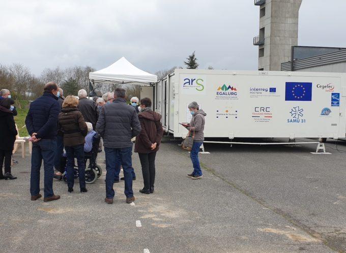 Estancarbon : Vaccination ce dernier week-end sur le parking du SDIS