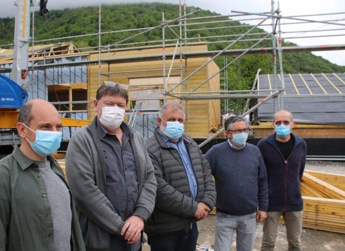 Maisons de Santé sur Marignac et Saint Béat, les travaux avancent !