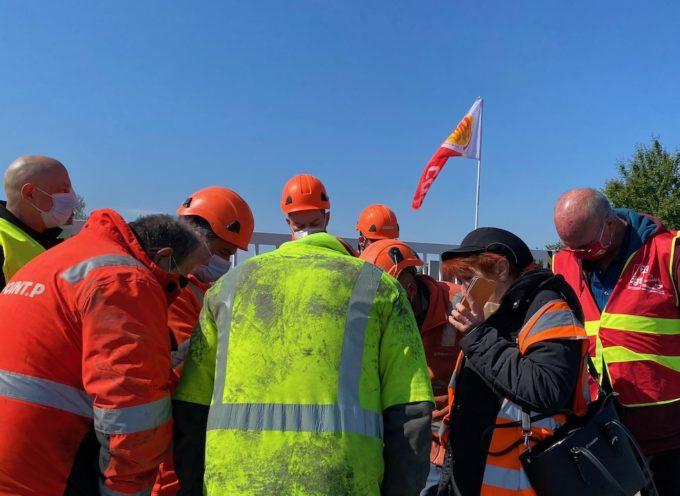 Les salariés de l'usine Clanet de Carbonne manifestent leur colère.(vidéo)