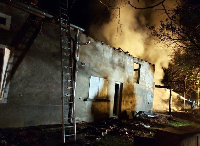 Huos  : Violent incendie rue du Bie