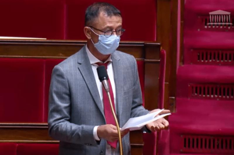 Le député Joël Aviragnet à l'assemblée nationale