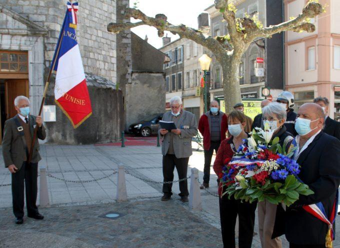 Montréjeau / Le Cuing : Commémorations du 8 mai