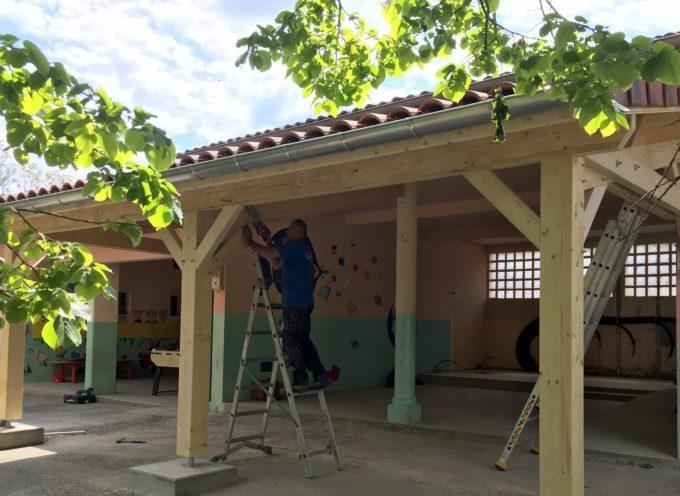 Montréjeau : L'école Sainte Germaine en travaux