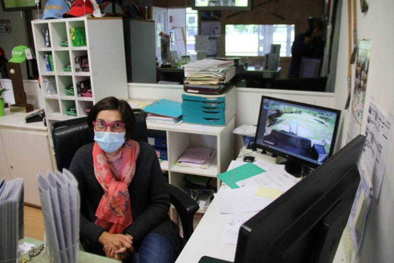 Christine Perez le sourire de l'Accueil..!