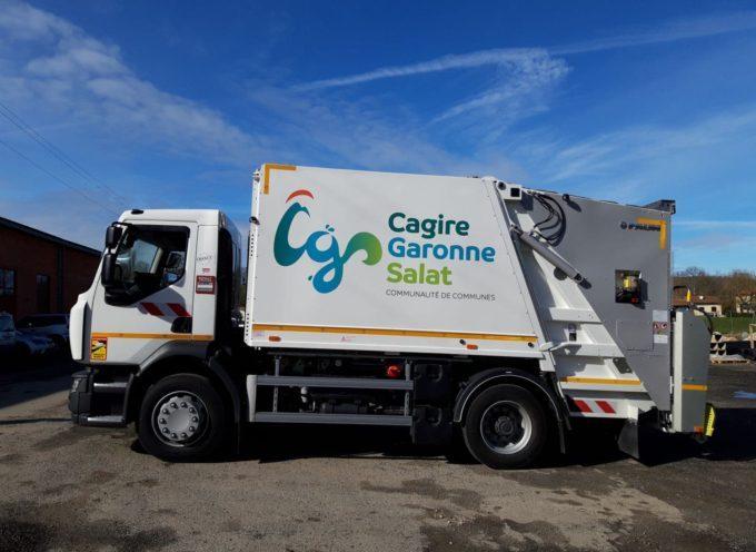 Cagire Garonne Salat : Jours fériés de mai, report de la collecte des ordures ménagères