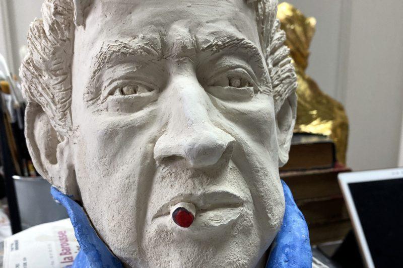 Sculpture du grand Serge
