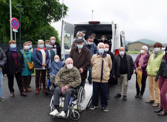 Montréjeau : Un nouveau minibus pour le Mont-Royal
