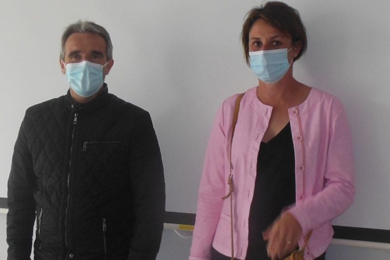 Jean-Yves Duclos et Céline Laurenties-Barrère
