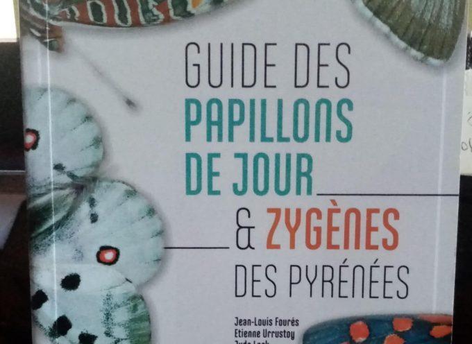 Le guide des papillons des Pyrénées est sorti