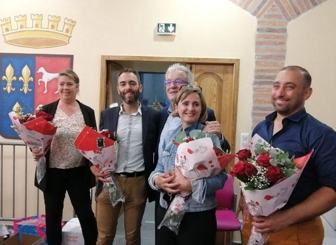 Canton de Cazères – Elus, Sandrine Baylac et Loïc Gojard remercient leurs électeurs