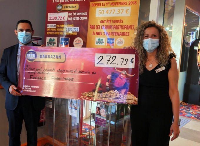 Barbazan : Opérations caritatives pour le casino