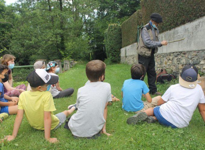 Era Sent Joan expliquée aux écoliers à Sengouagnet