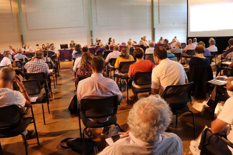 Vue partielle de l'assemblée des conseillers communautaires. le lundi 5 juillet 2021.