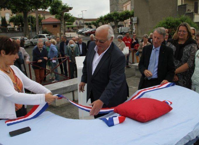 Montréjeau : Inauguration d'une superbe table d'orientation
