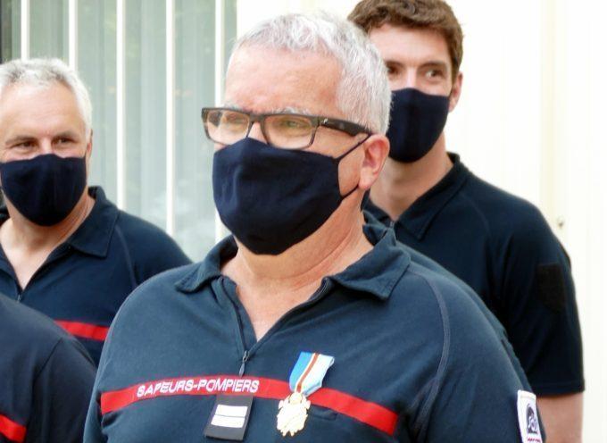 SDIS 31 Carbonne : Thierry Lautard prend une retraite bien mérité