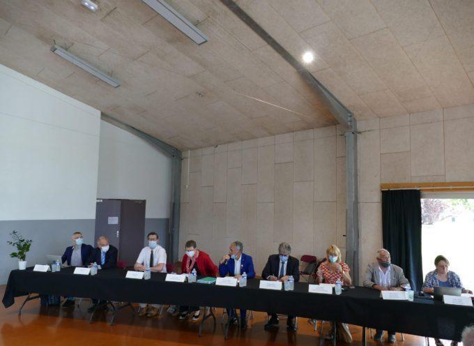 Les maires ruraux du département en assemblée