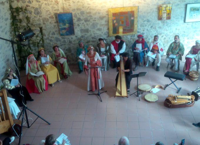 Galié   Polyphonies, harpe et vielle à roue conquéraient un nombreux public