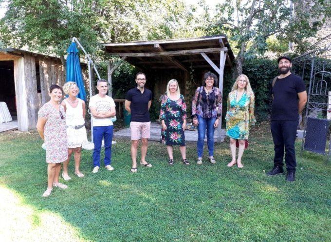 Martres Tolosane : Vernissage des artisans d'art du mois d'août au Grand Presbytère