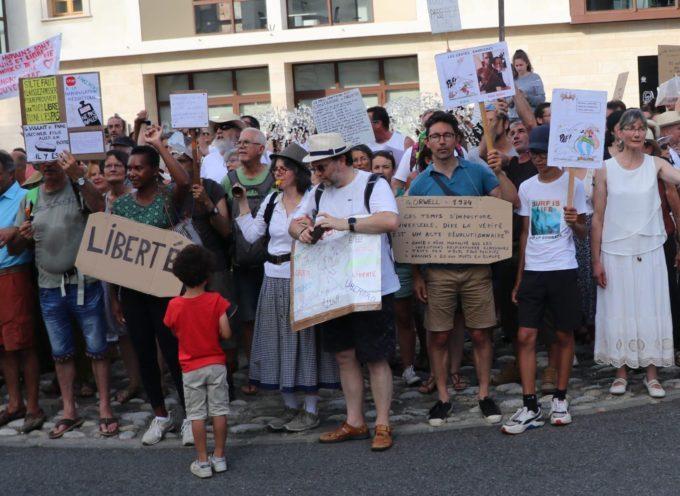 Saint Gaudens : Les manifestants anti-pass sanitaire ne désarment pas!
