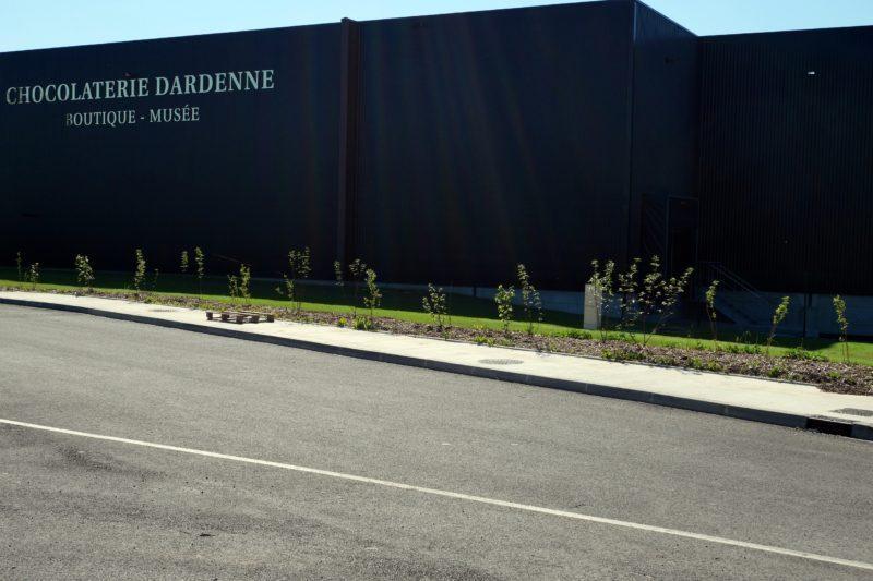 Le bâtiment à Ausson