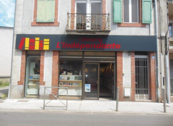 Gilles Vincent en dédicace à la librairie l'Indépendante de Saint-Gaudens