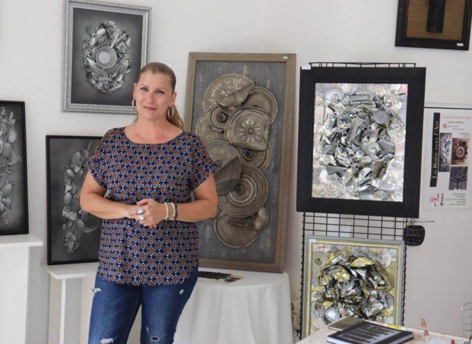 Béatrice Babeau expose pour la première fois et c'est à la Ruée vers l'Art