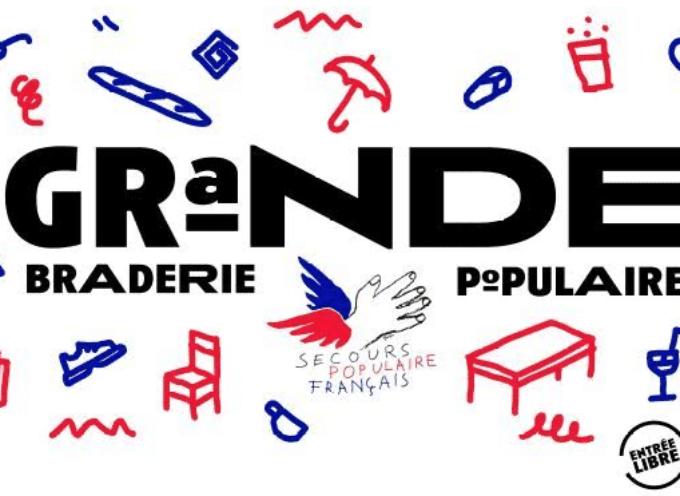 Saint-Gaudens : Grande Braderie du Secours Populaire