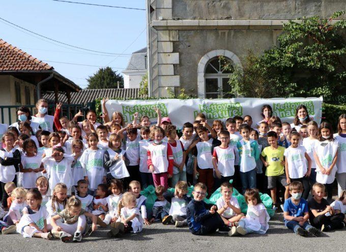 Montréjeau : Nettoyons la nature à l'école Sainte Germaine