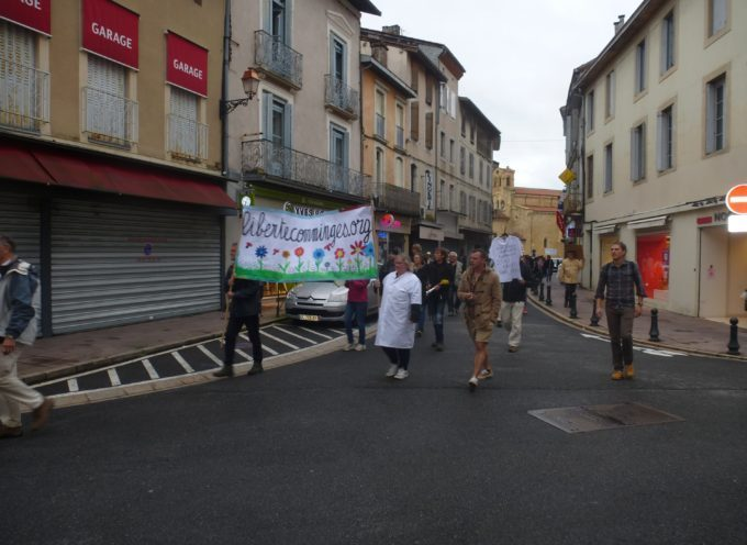 Manifestation anti passe sanitaire samedi 18 septembre – Une tonalité particulière!