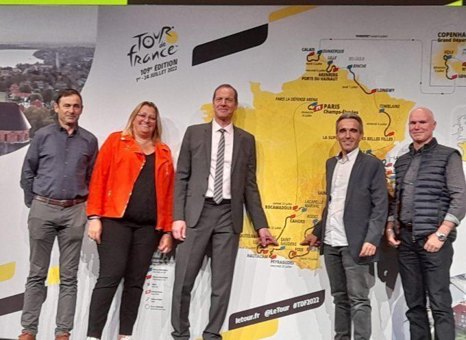 Le Tour de France s'élancera de Saint-Gaudens le mercredi 20 juillet 2022
